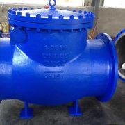 DN 800 PN 10 Rückschlagklappe in Stahl